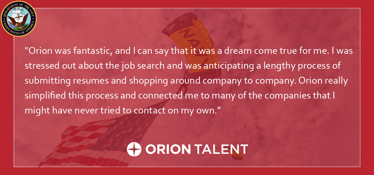 Careers For Navy Nuclear Technicians Through Orion Talent