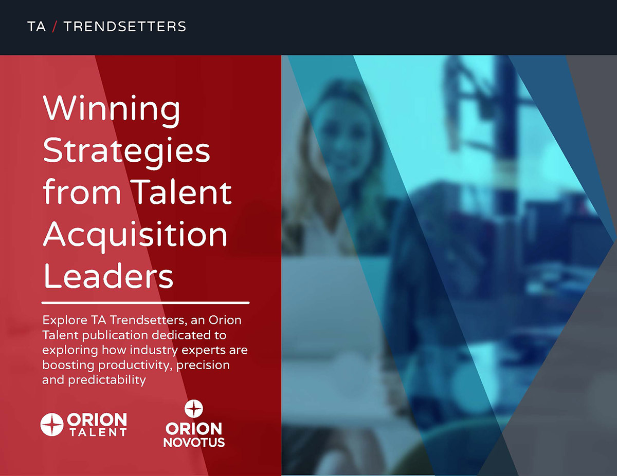 TA Trendsetters, Efficiency & Engagement in Talent Acquisition