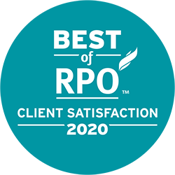 Best of RPO - Client Satisfaction 2020. Click to learn more. #BestofRPO #ServiceExcellence
