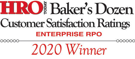 Orion Talent has been named among the top Enterprise RPO providers on HRO Today's 2020 Baker's Dozen Rankings