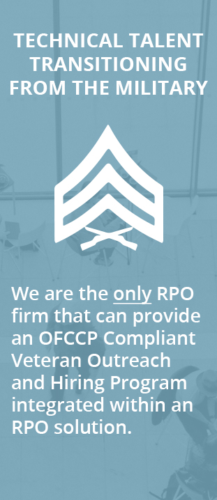 OFCCP Compliant Veteran Outreach and Hiring Program in RPO