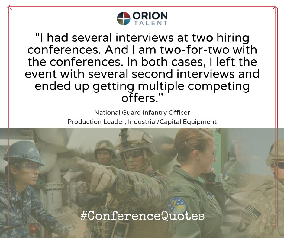 ConferenceQuotes National Guard Infantry Officer